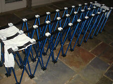 2.9m (8 ft) Highly mobile folding Gravity roller conveyors. With travel bag.