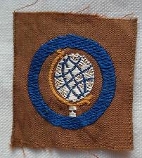 Insigne tissu BREVET SCOUT 1939/1940 France scouts  Scoutisme ORIGINAL patch 13