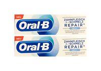 2x Oral-B Zahnfleisch und Zahnschmelz Repair Original Zahnpasta 75 ml