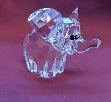 SCS Swarovski Elephant Figurine - Brand New in Box With Certificate
