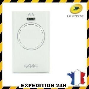 FAAC - XT2 868 SLH 787009 - Télécommande de portail / garage 2 canaux 868 MHz