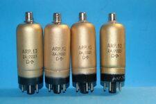 Quattro valvole ARP12 Dorate Mullard