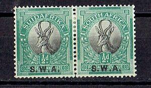 South West Africa 1927 pair stamps Mi#112-113 MH