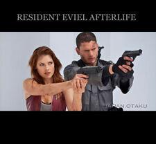 Resident Evil Afterlife Biohazard Chris Redfield M93R Replica Desert Tan color