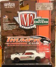 2017 M2 Machines Auto-Drivers R46 Thumper Cams 1968 Pontiac Firebird 400 H.O.