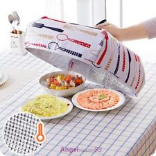 Thermal Dish Cover Food Cover Lid Keep Warm Foldable Aluminium foil Kitchen New