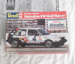 1/24 Dave Rosenblum's Valvoline VW Volkswagen Golf Racer Model Kit