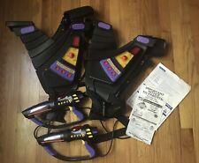 Laser Challenge Pro Laser Toymax Tag Set, 2 vests and two laser guns 1997
