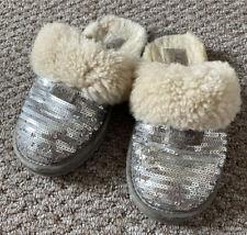 UGG Australia Children Girls Dazzle Sequin Slippers UK 12 EU 30 S/N 1005766K