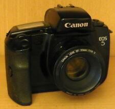 CANON EOS 5, SLR analog, m. Canon Lens EF 50mm / 1:8