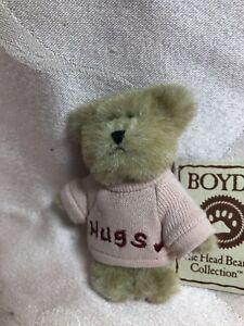 Boyds Bears Mini Message Bear Care