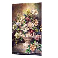 5d Diamant Painting Malerei Kit DIY Blumen und Vase Muster Handgemachtes