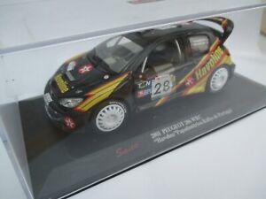 SAICO PEUGEOT 206 WRC 1/32 scale model rally car Portugal 2001 'Havoline'