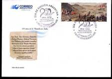 ARGENTINA 2013, BATTLE OF SALTA MILITARIA  FDC