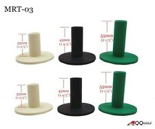 6pcs Golf Rubber tees MRT-03 Hitting Practice Mat Range Tee 3 different sizes