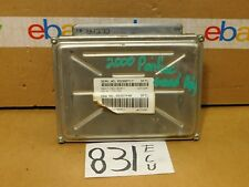 00 Pontiac Grand Prix #831 Engine Computer ECM ECU 09380717