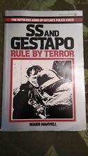 Ballantine Historical Book SS & Gestapo - Rule by Terror