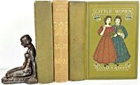 1919 edition LITTLE WOMEN SET 1st & pt 2 LOUISA MAY ALCOTT a Civil War JO'S BOYS