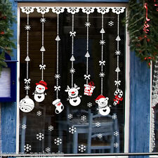 1 Wandtattoo Fenstersticker Aufkleber Weihnachtstattoo Weihnachten Schneemann FL