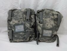 SUSTAINMENT POUCHES MOLLE II ACU CAMO US ARMY Set Of 2