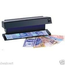 UV Electronic Counterfeit Money Detector: Check stamps, checks, documents bills