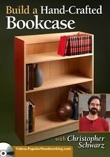 NEW! Build a Hand-Crafted Bookcase with Christopher Schwarz [DVD]