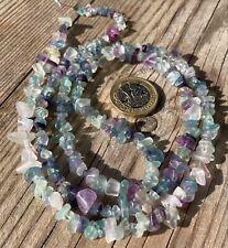 Fluorite - Semi Precious 76cm - Gemstone Beads - Jewellery Making