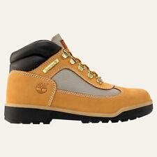 NIB Timberland JR, Field Boot JR. Wheat  Hiking  Boots Youth Girls Size 5 M