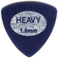 2 (two) Pack COOL PICKS Blue Velvet Felt Guitar Picks Triangle 1.8mm Ukulele