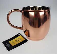 Moscow Mule Copper Mug Cup Handle Primitive Rustic CG Society by Circle Glass