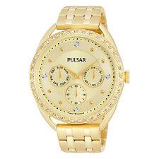 Pulsar Women's PP6178 Analog Display Japanese Quartz Gold Watch