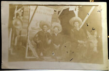 Cute Young Sailors TIJUANA, MEXICO, Baja California 40s Photo Post Card NEW YEAR