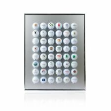 KNIX Premium Golfball Setzkasten / Vitrine / Schaukasten / Regal aus Aluminium