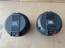 JBL 2450J Neodymium Horn Drivers W/ Genuine JBL Diaphragms  - Nice!!