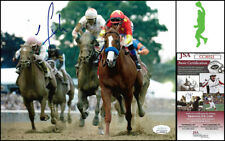 MIKE SMITH AUTOGRAPH SIGNED 8X10 PHOTO PICTURE TRIPLE CROWN JUSTIFY JSA COA
