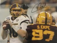Cooper Rush Signed 8x10 Dallas Cowboys Photo Autographed Central Michigan Gdst D