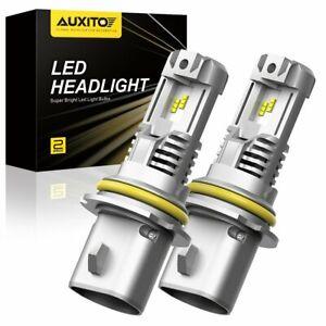 M3 24000LM 9007 LED Hi Low Beam Kit Bulbs for 2000-2016 Peterbilt Pete Headlight