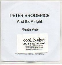 (63K) Peter Broderick, And It's Alright - DJ CD