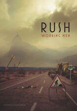 """RUSH Adesivo/Sticker # 1 """"working men"""""""