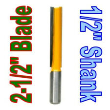 """1 pc 1/2"""" SH 2-1/2""""  Extra Long Straight Router Bit  sct-888"""