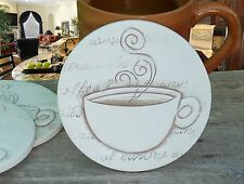 """Clay Drink Coasters, COFFEE ABSORBENT DRINK COASTERS """"SUPER SOAKERS"""""""