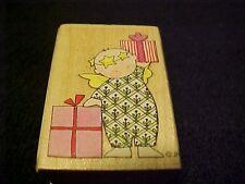 Christmas Holiday Gifts Rubber Wood Mounted Stamp Jone Hallmark All Night Media