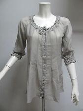 EUROPEAN CULTURE camicia donna art.6630 col.BEIGE CHIARO tg.XL ESTATE 2012