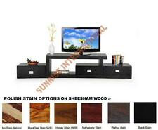 Low Height Wooden TV Cabinet Stand (3 drawers) !!