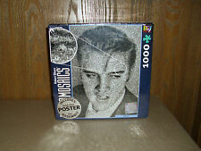 Photomosaics Robert Silvers 1000 pc. Elvis Presley Puzzle +Bonus Poster  NISP