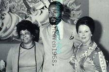 MARVIN GAYE Shirley Temple Alberta Gay 35MM SLIDE TRANSPARENCY 7740 PHOTO