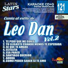 Karaoke Latin Stars 121 Leo Dan Vol.2