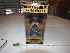 Funko The Walking Dead Michonne Wacky Wobbler Bobblehead AMC bobble head NOS