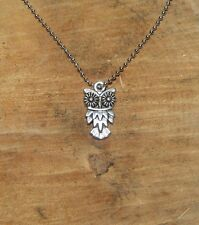 Modeschmuck Halsketten Anhanger Aus Edelstahl Mit Eulen Form