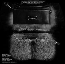 Romanov Silver Fox fur handbag Luxury purse bag clutch / Arctic-store